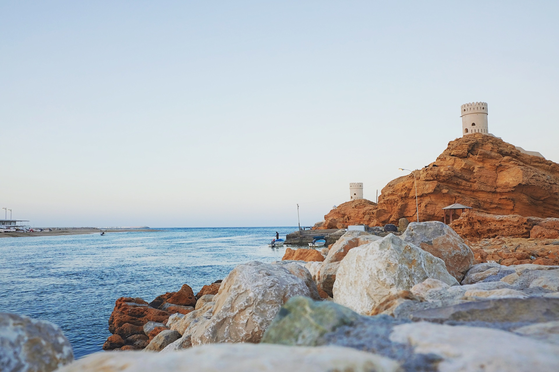 Watch tower at Sur, Oman